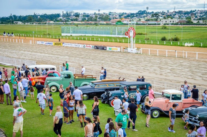 Band Cidade do dia 15/02 noticia o segundo evento no Jockey