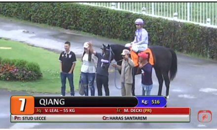 Qiang vence mais uma em Cidade Jardim
