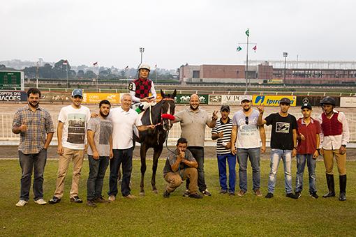 Jockey Club Paraná, fotos das vitórias - Hipódromo do Tarumã, reunião do dia 01-03-2018