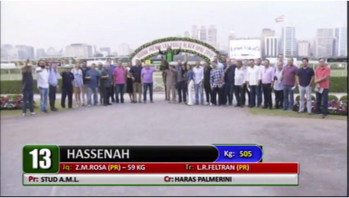 Hassenah é a melhor do Clássico F.I.A.H