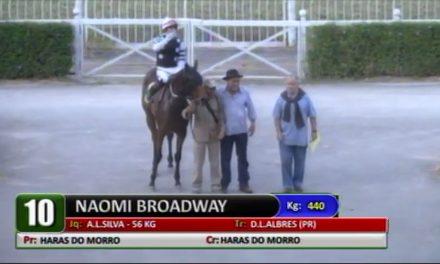 Com autoridade, Naomi Broadway vence o Clássico Emerald Hill (L)
