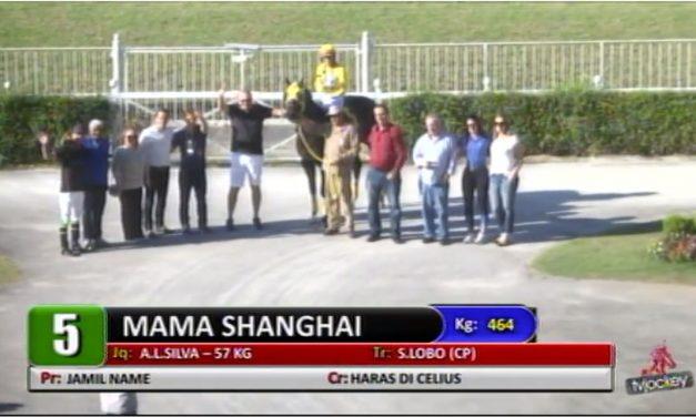 Mama Shanghai vence mais uma