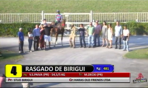 Rasgado De Birigui reaparece com vitória